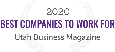 2020 Award for Best Companies to Work for from the Utah Business Magazine