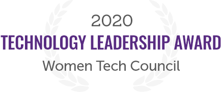 2020 Technology Leadership Award from the Women Tech Council