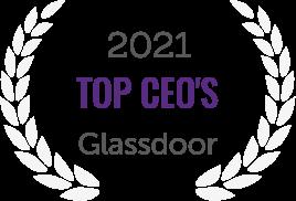 2021 Top CEO's Award from Glassdoor